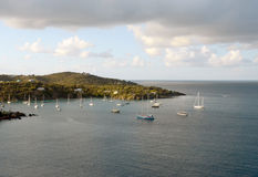 Coastline of St Thomas, US Virgin Islands Royalty Free Stock Images