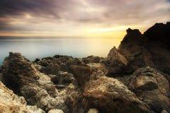 Coastline Sunrise Royalty Free Stock Photos