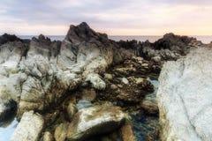 Coastline Sunrise Royalty Free Stock Photography