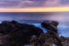 Coastline Sunrise Royalty Free Stock Images
