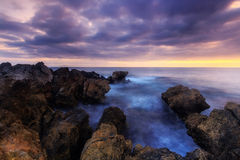 Coastline Sunrise Stock Photo