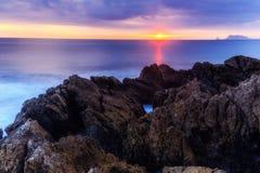 Coastline Sunrise Royalty Free Stock Image