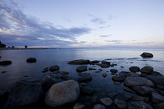 Coastline in Sweden. Stock Photo