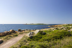 Coastline in Sweden Royalty Free Stock Images