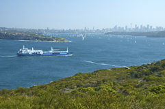 Coastline of Sydney Royalty Free Stock Photos