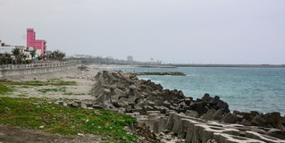 Coastline in Taitung, Taiwan Stock Images
