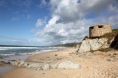 Coastline at Tarifa - Spain Royalty Free Stock Photography