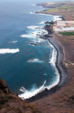 Coastline of Tenerife Royalty Free Stock Photos