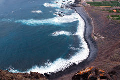 Coastline of Tenerife Stock Photo