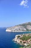 Coastline at Thassos Royalty Free Stock Image