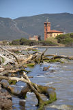 Coastline in Tuscany, Italy Royalty Free Stock Photo