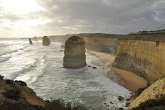 Coastline of the Twelve Apostles Royalty Free Stock Photography