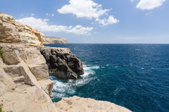 The coastline of Valetta Stock Photography