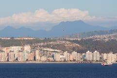 Coastline of Valparaiso, Chile Royalty Free Stock Photo