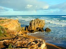 Coastline of Victoria Australia Royalty Free Stock Photo