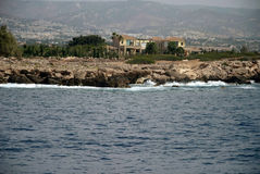 Mediterranean coastline Stock Image