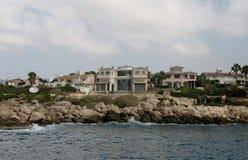 Mediterranean coastline Royalty Free Stock Photography