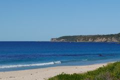 Coastline view Mollymook royalty free stock photography