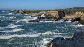 Coastline At Wilder Ranch State Park, California Royalty Free Stock Photos