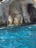 Coastline of Zante, Greece Royalty Free Stock Images