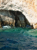 Coastline of Zante, Greece Royalty Free Stock Photo