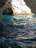 Coastline of Zante, Greece Stock Photography