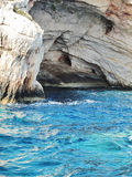 Coastline of Zante, Greece Stock Image