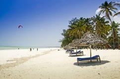 Coastline on Zanzibar Stock Images