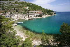 coasts croatia Royaltyfri Foto