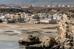 Coastside view Taqah plateau City Salalah Dhofar Sultanate Oman 16 Stock Image