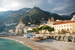Coastview de Amalfi Foto de archivo
