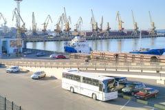 Coastwise port Miasto Odessa Fotografia Stock