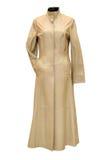 Coat. Woman coat isolated on white Royalty Free Stock Photos