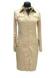 Coat. Woman coat isolated on white Stock Photography