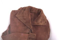 Coat. Brown coat stock photography