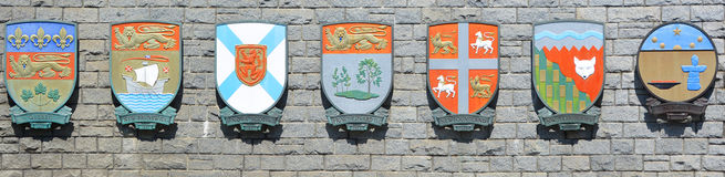 Coat of arm Stock Photos