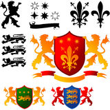 Coat of Arms 04 Stock Photo