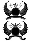 Coat of arms. Vector coat of arms isolated on white Royalty Free Stock Image