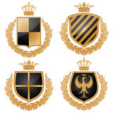 Coat of arms Stock Photography