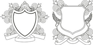 Coat of arms stock illustration