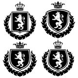 Coat of arms. Vector Illustration Royalty Free Stock Photography