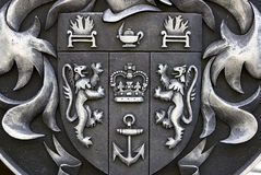 Coat of arms. Crest. Close-up Royalty Free Stock Image
