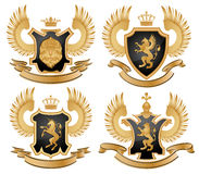 Coat of arms. Isolated on white background Stock Photo