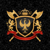 Coat of arms Royalty Free Stock Images