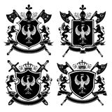 Coat of arms. Vector illustration Stock Image
