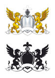 Coat of arms. Vector detailed illustration for best prints Royalty Free Stock Photo
