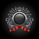 Coat of arms. Vector illustration Royalty Free Stock Images