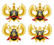 Coat of arms. Vector illustration Royalty Free Stock Image