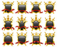Coat of arms. Vector illustration Stock Photos