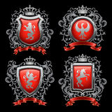 Coat of arms. Vector illustration royalty free illustration